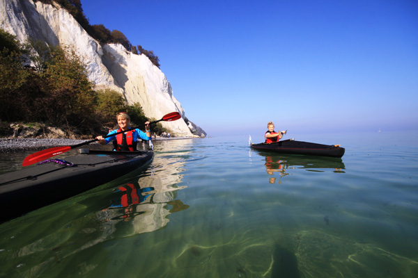 We bring you back to nature at Camp Møns Klint in Denmark